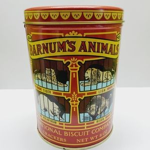 VTG 1979 Barnum's Animal Cracker Tin